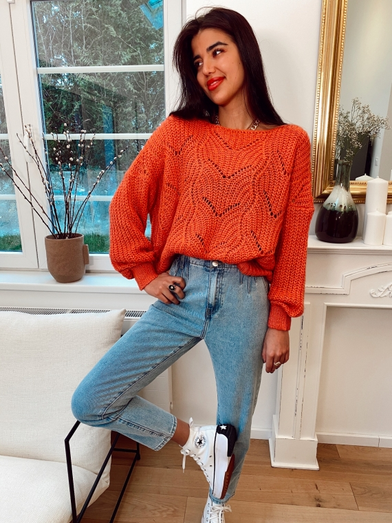 Coral ESME knit sweater