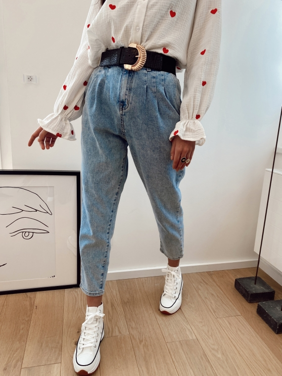 Jeans coupe mom TINY