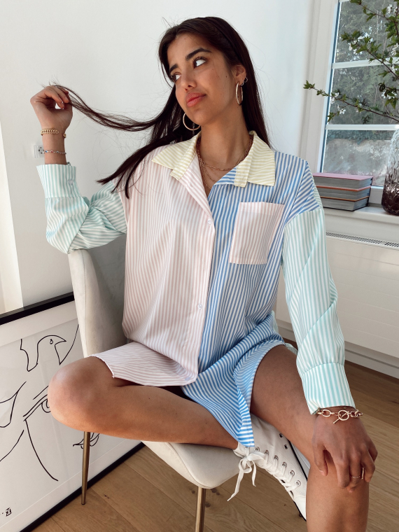 4 color SPLENDIDE shirt dress