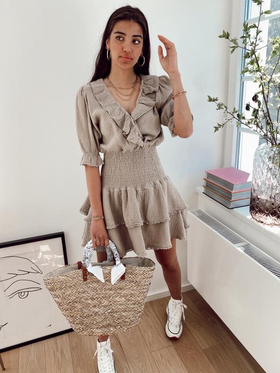 Beige AMBROSIA dress