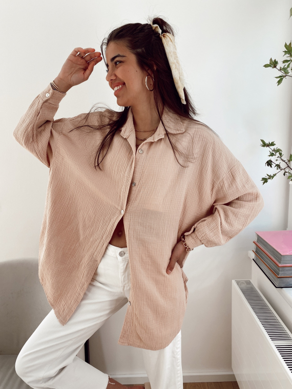 Pink SALVA oversized shirt