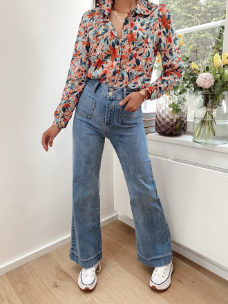 Wide leg jeans with pockets PARADE